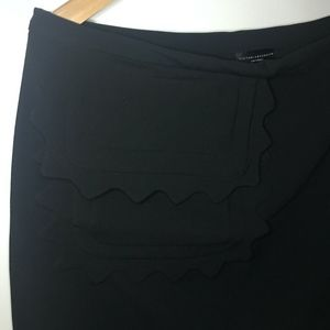 Victoria Beckham for Target Scallop-Trim Skirt - L